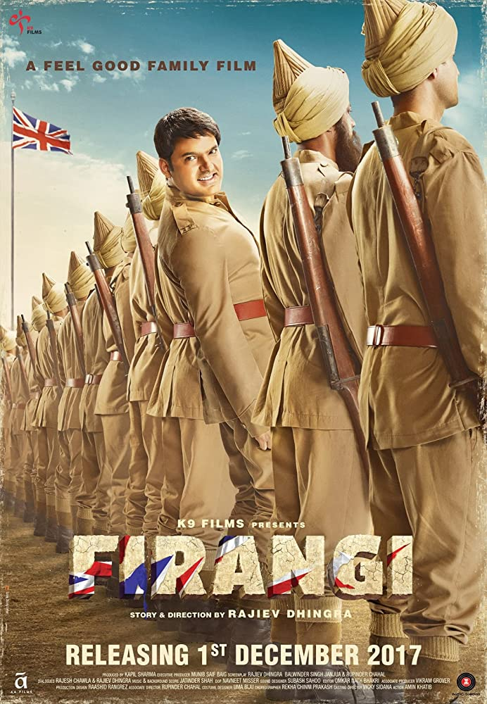 Firangi (2017) Hindi 400MB HDTVRip 480p x264