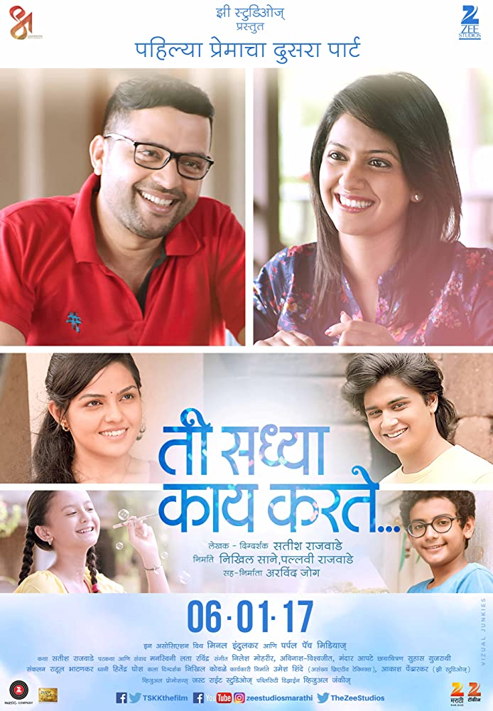 Ti Saddhya Kay Karte (2017) Marathi 720p Bluray Full HD