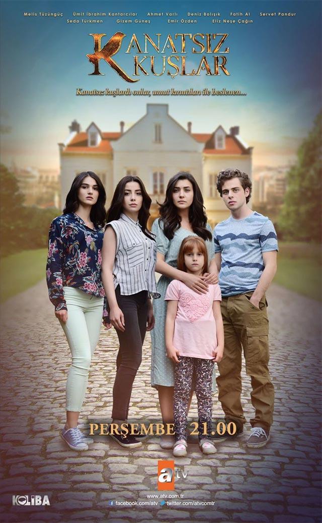 Palaužti sparnai (1 sezonas) / Kanatsiz Kuslar