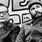 Fidel Castro and Salvador Allende in Salvador Allende (2004)