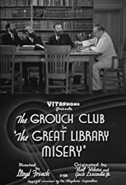 The Great Library Misery(1938) Poster - Movie Forum, Cast, Reviews