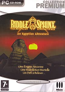 Riddle of the Sphinx: An Egyptian Adventure by none