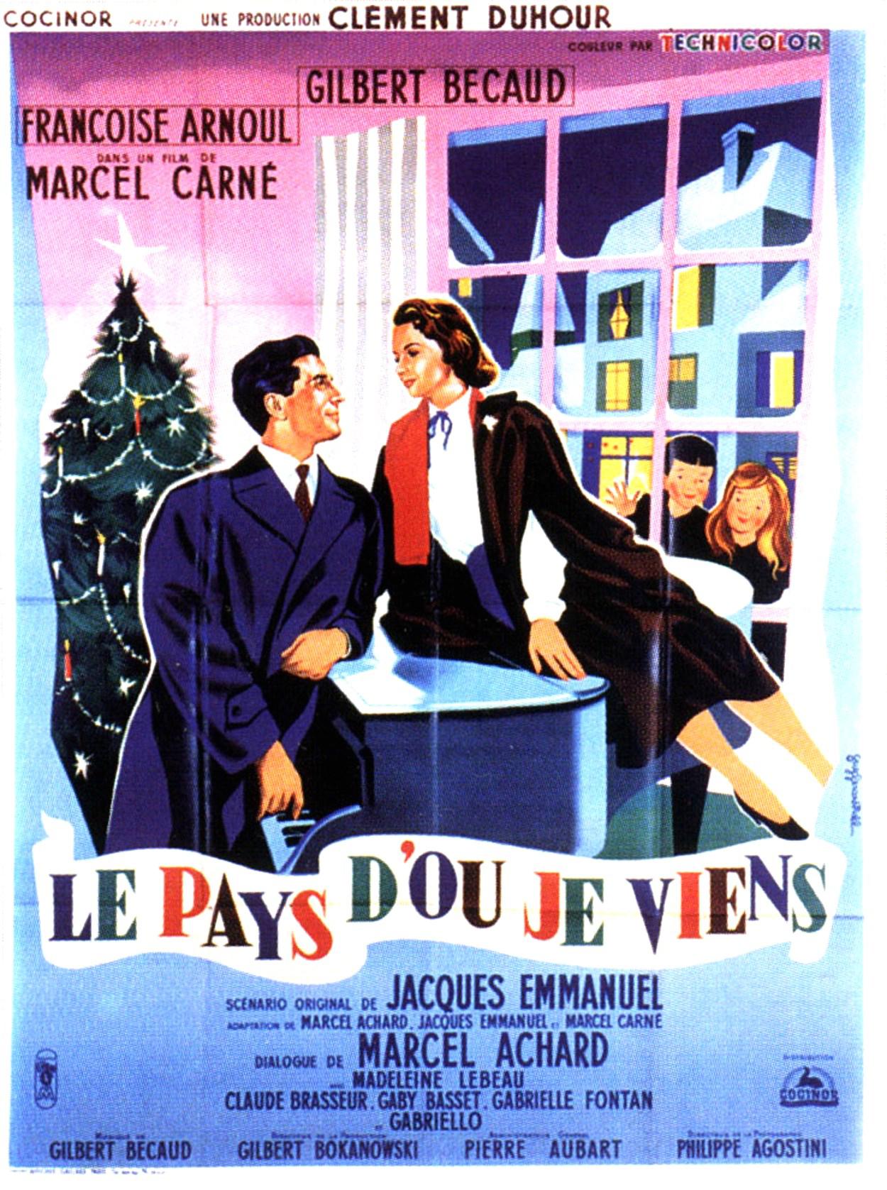 Le pays d'où je viens (1956)