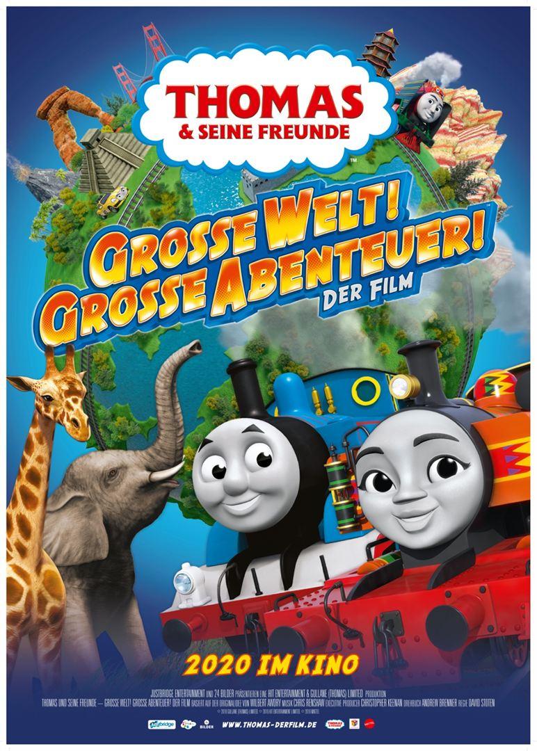 Thomas & Friends: Big World! Big Adventures! The Movie (2018) Dual Audio 720p BluRay  [Hindi + English]