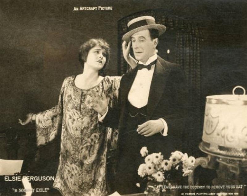 Elsie Ferguson in A Society Exile (1919)