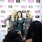 Geri Courtney-Austein, Julie Lake and Melanie Leanne Miller at the James Blondes Premiere
