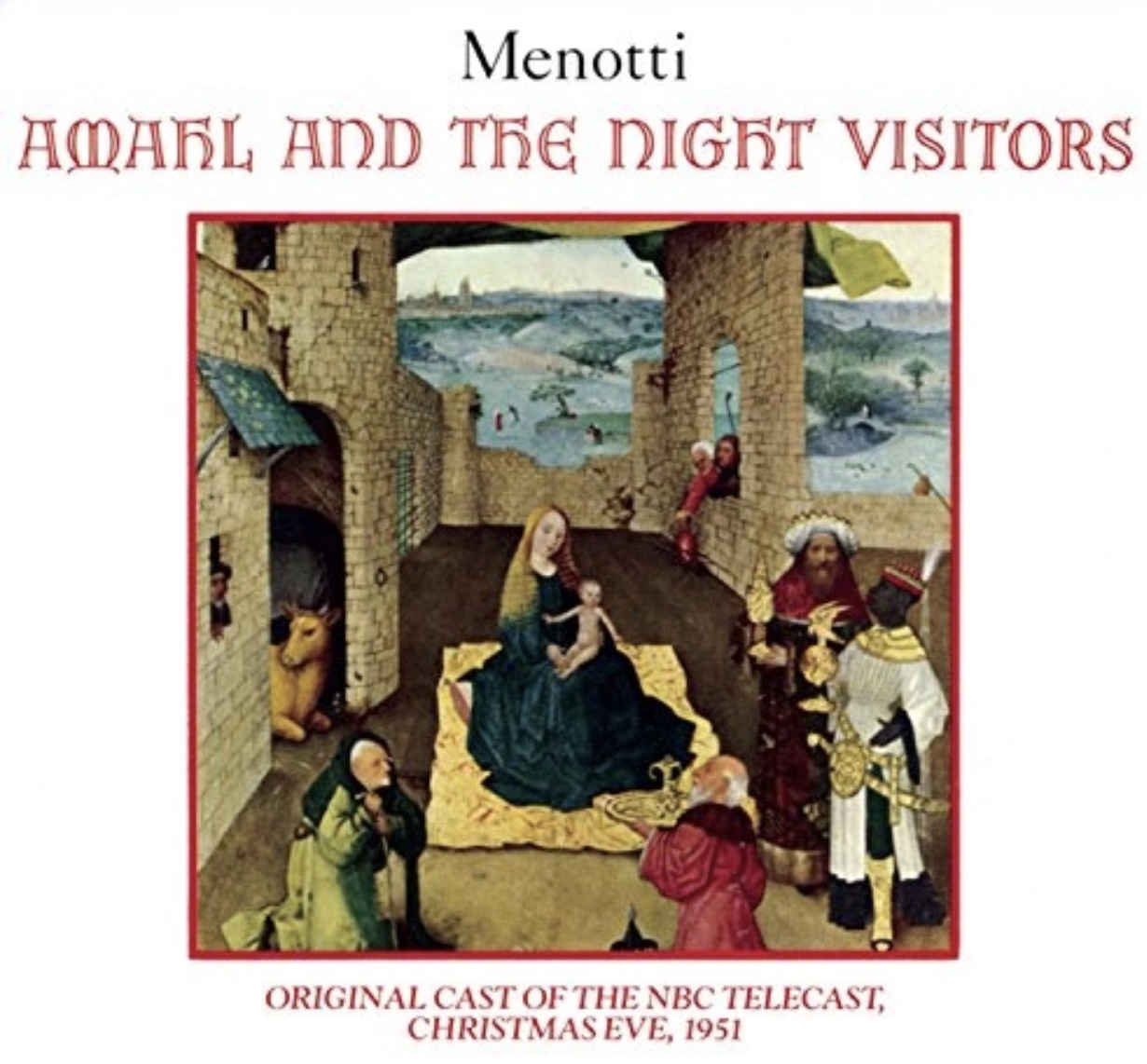 Image result for amahl and the night visitors