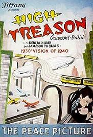 High Treason Poster