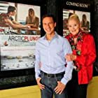 Sally Kirkland and Brian To at an event for Arctic Plunge (2015)