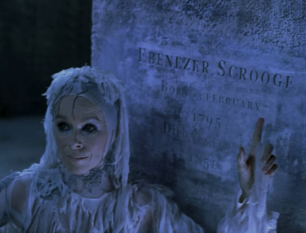 Geraldine Chaplin in A Christmas Carol (2004)