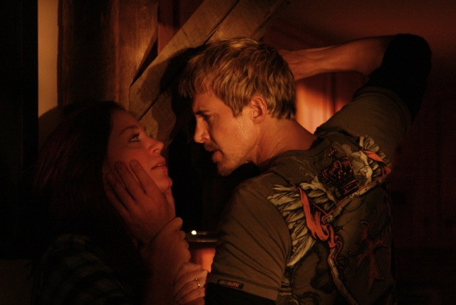 Chris Divecchio and Rachel Kerbs in Blessid (2015)