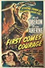 First Comes Courage (1943) Poster