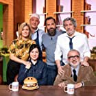 Alain Chabat, Dominique Farrugia, Marina Foïs, Fred Testot, Williams Guitton, and Rebecca Zlotowski in Burger Quiz (2001)
