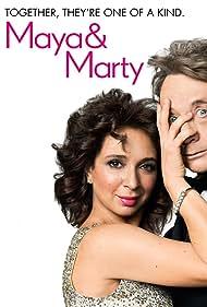 Martin Short and Maya Rudolph in Maya & Marty (2016)