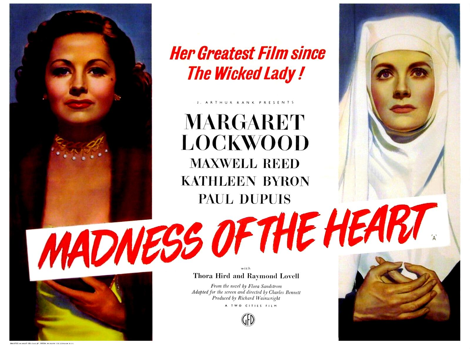 Margaret Lockwood in Madness of the Heart (1949)