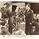 Jerry Mills, John Morgan, Edmond O'Brien, Geza Remy, Robert Stack, and Willy Wickerhauser in Fighter Squadron (1948)
