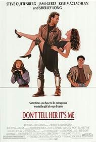 Jami Gertz, Steve Guttenberg, Shelley Long, and Kyle MacLachlan in Don't Tell Her It's Me (1990)