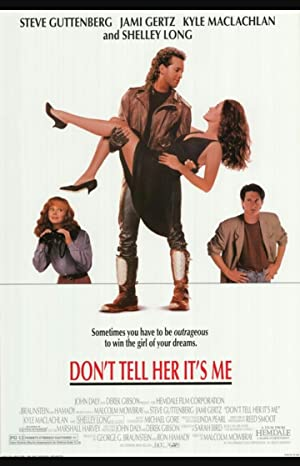 Don't Tell Her It's Me Poster