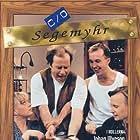 Sussie Ericsson, Lennart Jähkel, Olle Sarri, and Johan Ulveson in c/o Segemyhr (1998)