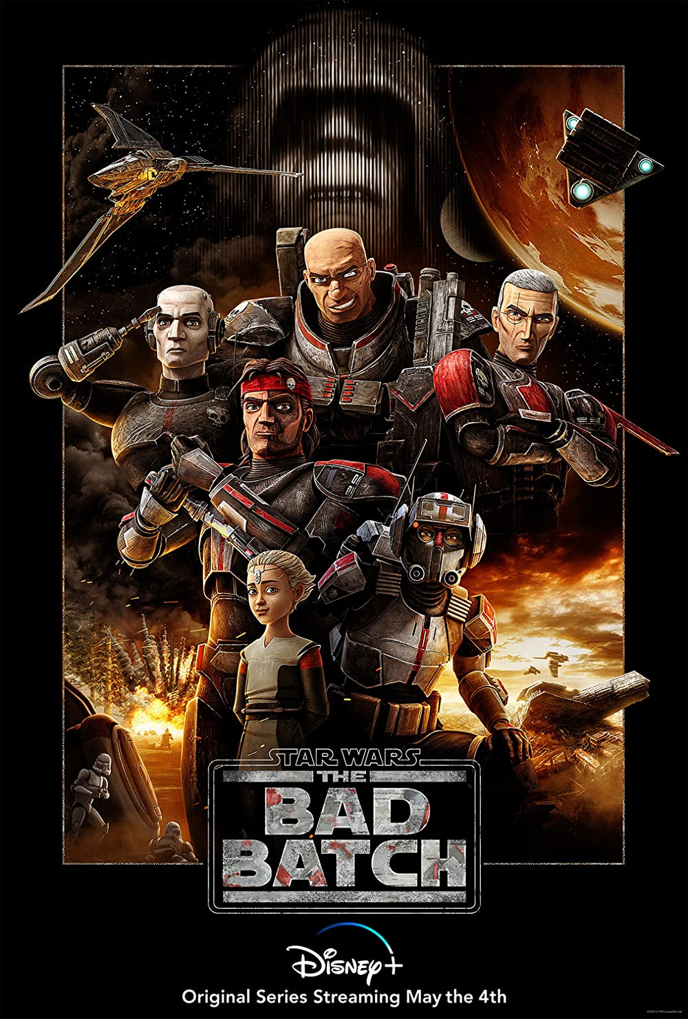 Star Wars The Bad Batch S01E02 2021 English 720p DSNP HDRip 180MB MSubs Download
