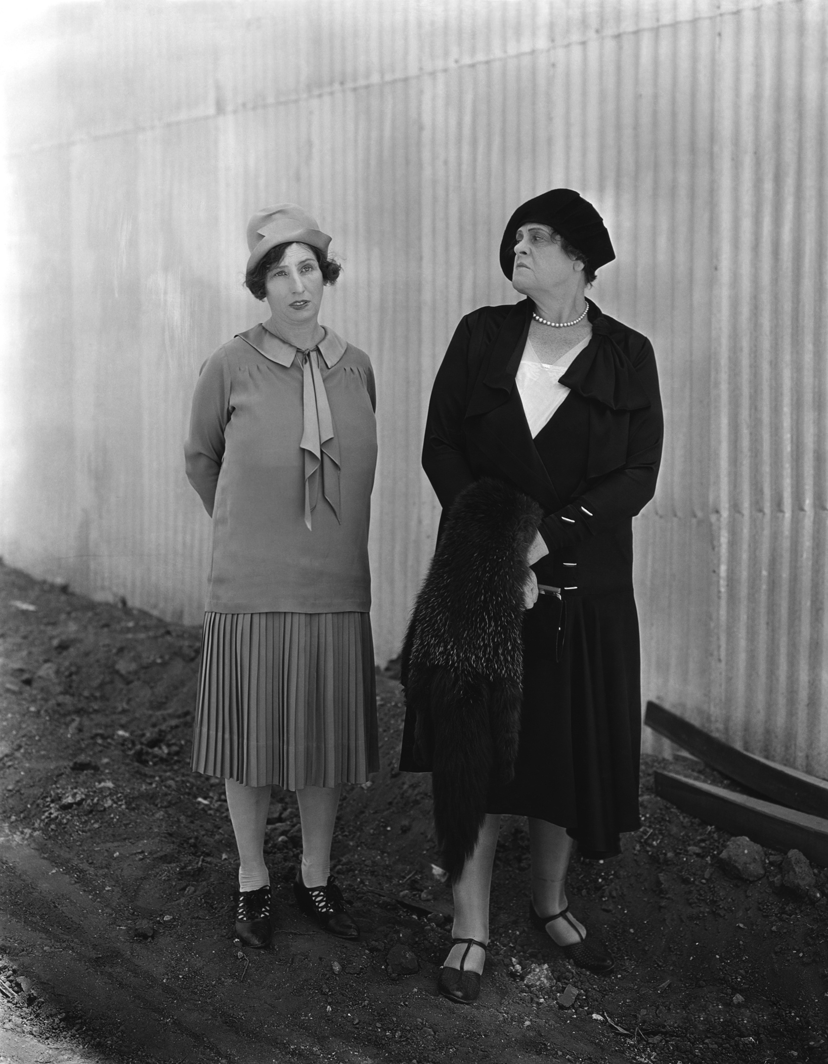 Marie Dressler and Polly Moran in Chasing Rainbows (1930)