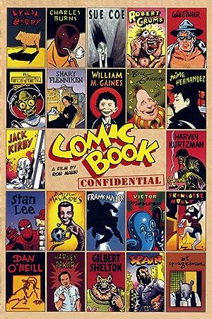 Where to stream Comic Book Confidential