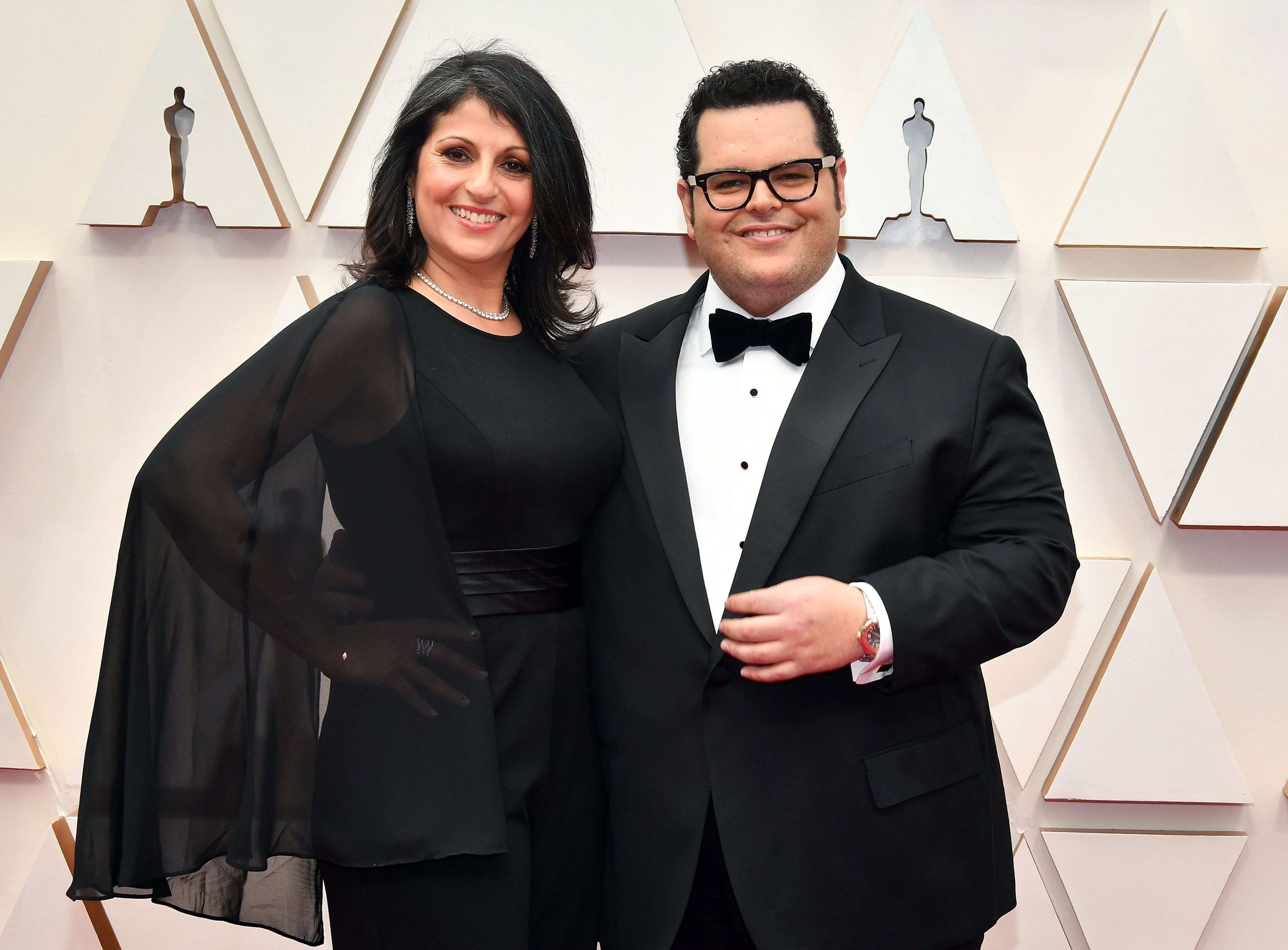Josh Gad and Ida Darvish at an event for The Oscars (2020)