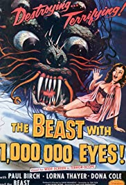The Beast with a Million Eyes Poster