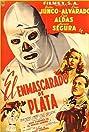 El enmascarado de plata (1954) Poster