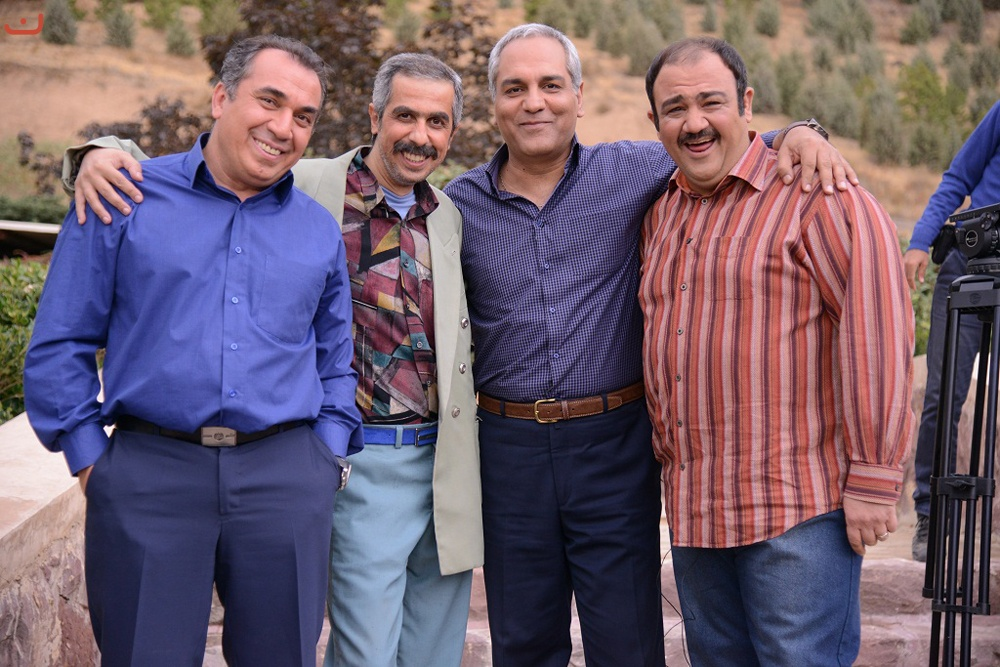 Mehran Modiri, Siamak Ansari, Javad Razavian, and Mehran Ghafoorian in Dar Hashieh (2015)