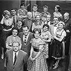 Liesel Christ, Sophie Cossaeus, Joachim Engel-Denis, Helga Neuner, Wolf Schmidt, and Joost Siedhoff in Die Firma Hesselbach (1960)