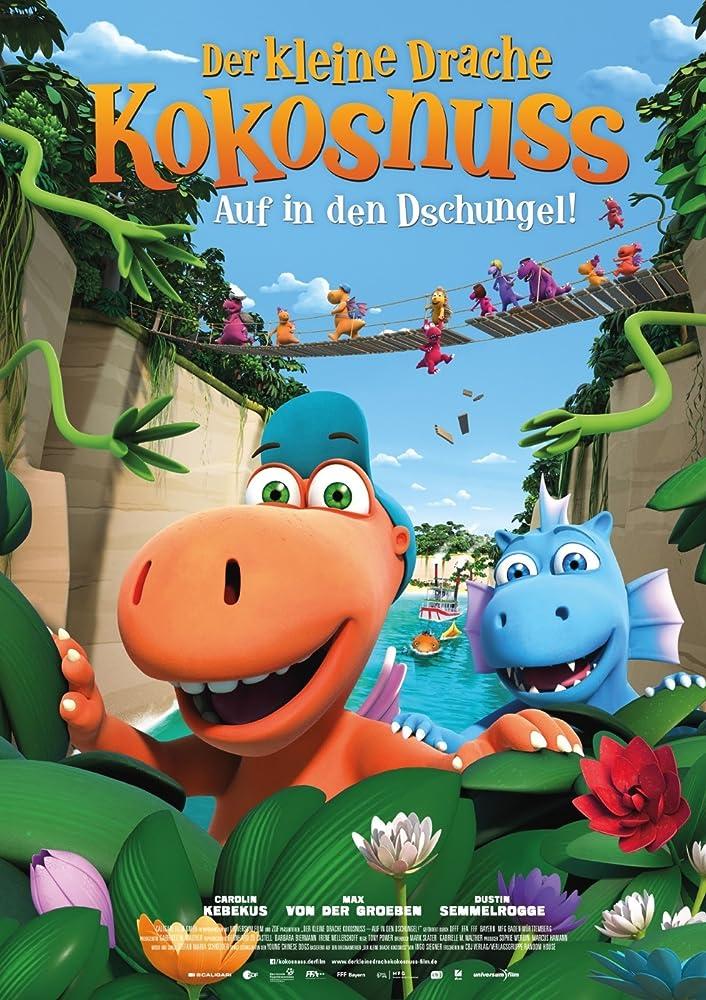 Кокоша — маленький дракон: Приключения в джунглях cкачать через торрент в HD
