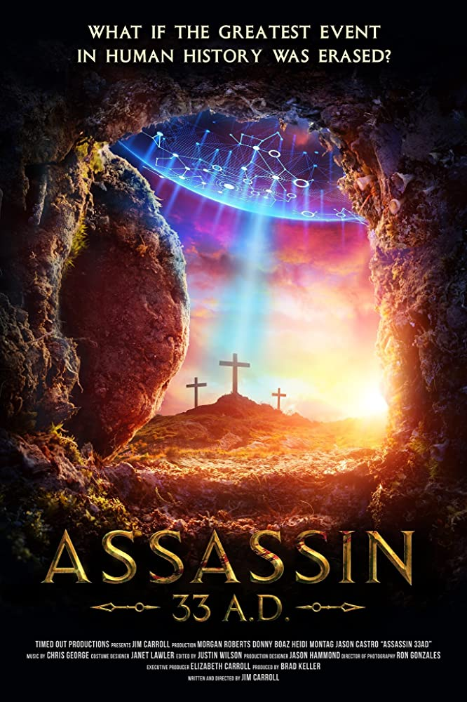 Assassin 33 A.D. (2020) English 720p HDRip 800MB