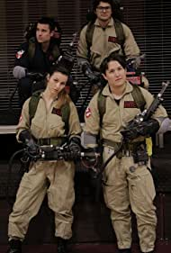 Chris Kato, Jason Andrew Ashby, Joey Sinko, and Veronica Rosa Ray in Ghostbusters: Station 6 (2017)