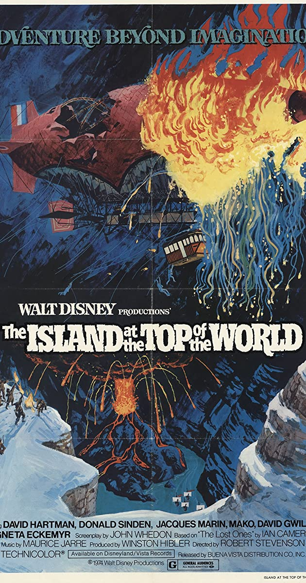 Subtitle of The Island at the Top of the World