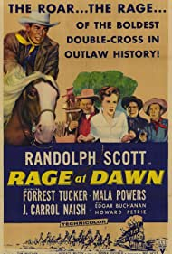 Rage at Dawn (1955) Poster - Movie Forum, Cast, Reviews
