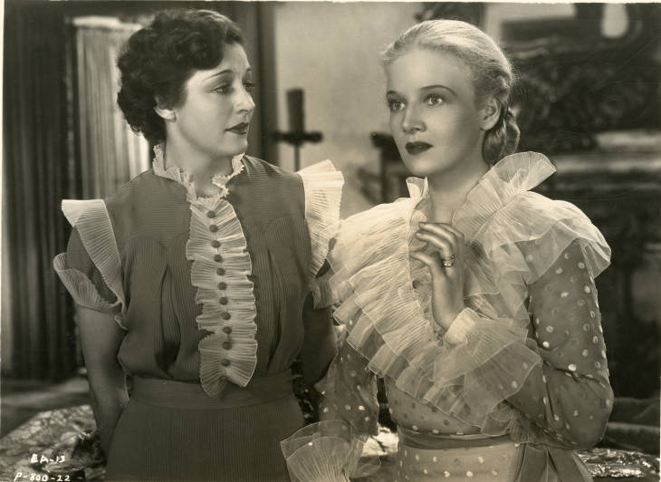 Katharine Alexander and Ann Harding in Enchanted April (1935)