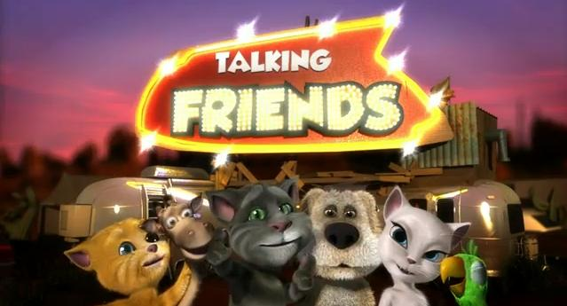 Image result for talking friends