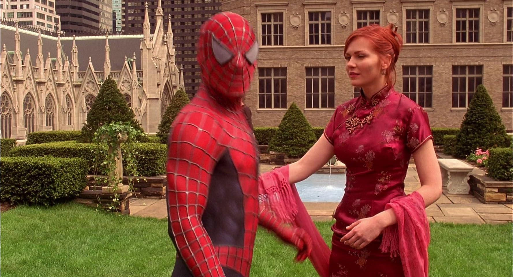 Kirsten Dunst in Spider-Man (2002)