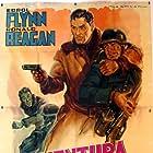 Errol Flynn and Ronald Reagan in Desperate Journey (1942)