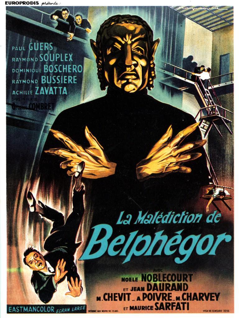 La malédiction de Belphégor (1967)