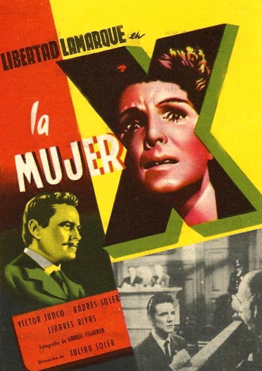 Libertad Lamarque in La mujer X (1955)