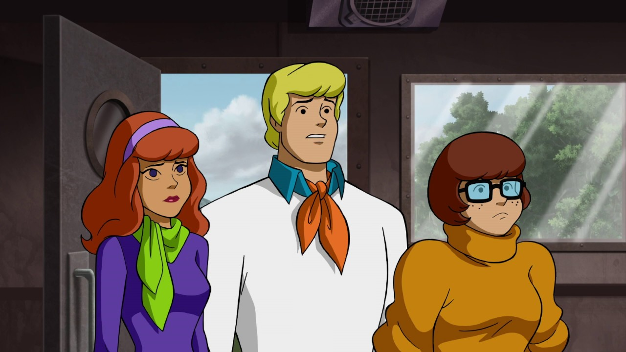 Grey Griffin, Frank Welker, and Kate Micucci in Scooby-Doo: Return to Zombie Island (2019)