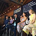 Sophie Goodhart, Zoe Kazan, Nick Kroll, and Jenny Slate in My Blind Brother (2016)