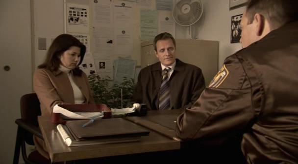 Daphne Zuniga and Duncan Regehr in Secret Lives (2005)