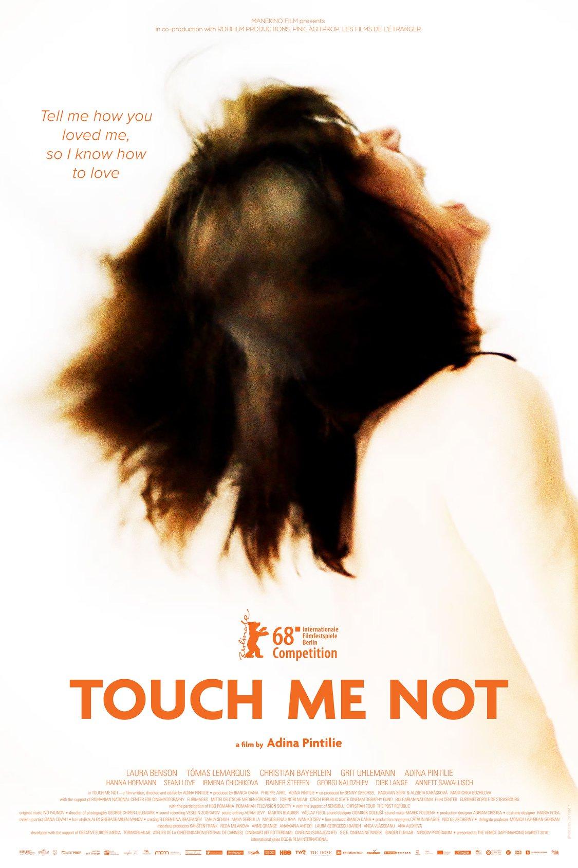 Resultado de imagem para touch me not (2018) poster