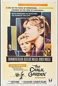 Deborah Kerr, Hayley Mills, and John Mills in The Chalk Garden (1964)