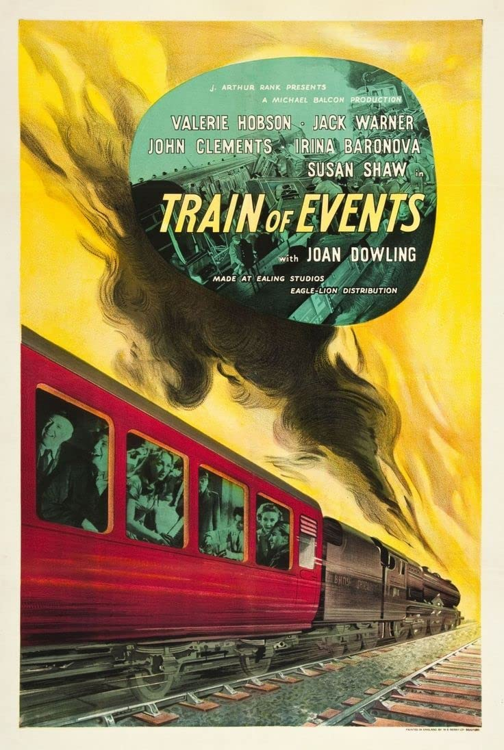 Train of Events (1949) UK poster