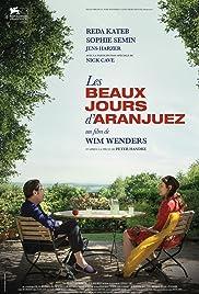 Les beaux jours d'Aranjuez Poster