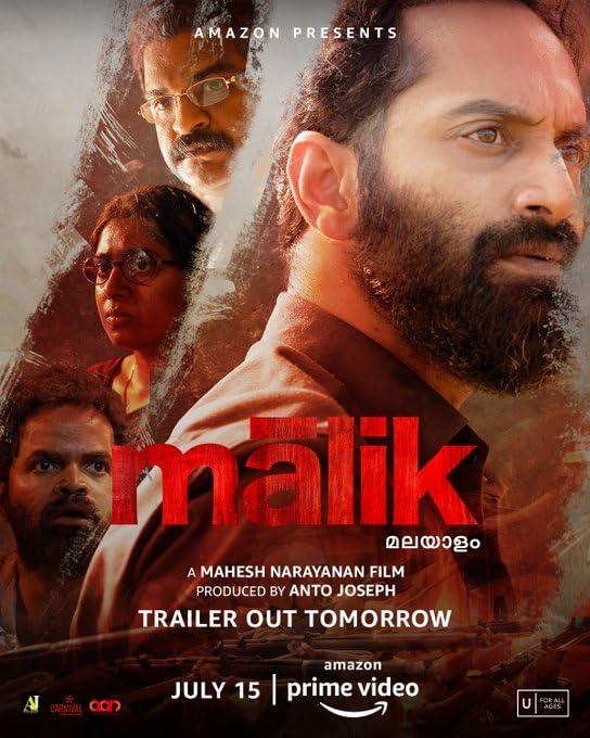 Malik 2021 Malayalam 720p AMZN HDRip 1.4GB Download